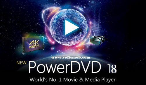 CyberLink PowerDVD 18 Ultra Crack With Serial Key Full [Latest]
