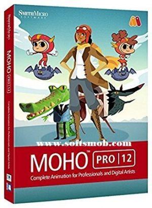 Smith Micro Moho (Anime Studio) Pro 12 Crack + Serial Number Full Free