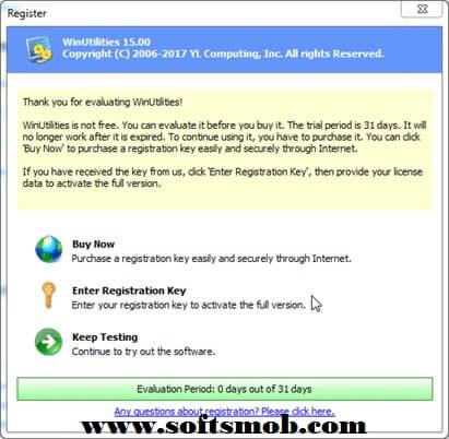 WinUtilities Pro 15 Keygen