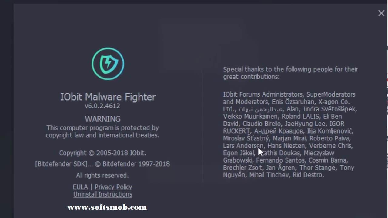 IObit Malware Fighter Pro 6.0.2.4612Crack