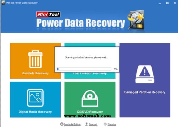 MiniTool Power Data Recovery 8.0 Key