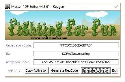 Master PDF Editor 5.0.28 Keygen