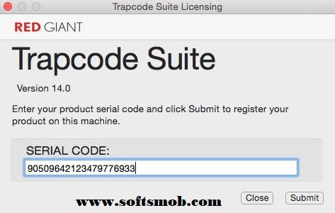 trapcode 14 serial